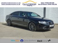 USED 2011 11 AUDI A6 2.0 TDI S LINE SPECIAL EDITION 4d 168 BHP Full Service History + Cambelt Buy Now, Pay Later Finance!