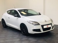 USED 2011 61 RENAULT MEGANE 1.9 MONACO GP DCI 3d 130 BHP SUPER VALUE AND STUNNING IN WHITE + HISTORY + FINANCE AVAILABLE