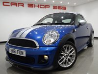 2011 MINI COUPE 1.6 COOPER 2dr COUPE JOHN COOPER WORKS..£6,400 EXTRAS £5990.00