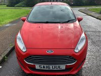 USED 2016 16 FORD FIESTA 1.5 TDCi ECOnetic Titanium (s/s) 5dr 1 Owner.Free Tax.F/D/S/H.94MPG