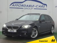 USED 2013 13 BMW 5 SERIES 2.0 520D M SPORT TOURING 5d AUTO 181 BHP