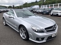 USED 2008 08 MERCEDES-BENZ SL 6.2 SL63 AMG 2d AUTO 525 BHP Only 38,000 miles by two keepers with service history