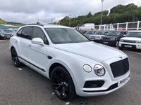 USED 2018 18 BENTLEY BENTAYGA 4.0 V8 D 5d AUTO 430 BHP Ghost White, Ivory leather, 22 inch & Black pack plus more. Only 2,000 miles