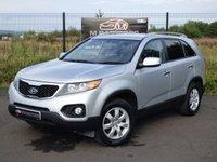 2012 KIA SORENTO KX-2 2.2 CRDI 5d 195 BHP £9495.00