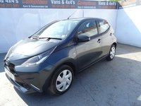 USED 2018 18 TOYOTA AYGO 1.0 VVT-I X-PLAY X-SHIFT 5d AUTO 69 BHP TOYOTA AYGO AUTOMATIC 5DRS AIRCON WITH A 5YR WARRANTY