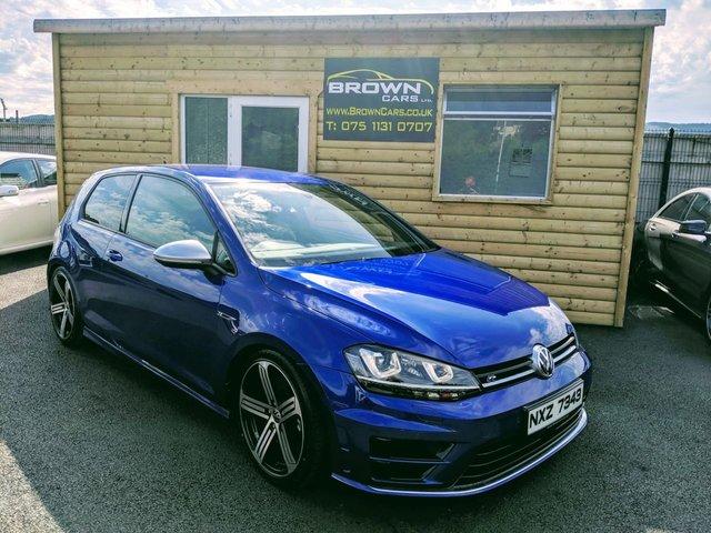 2014 Volkswagen Golf R Dsg £19,995