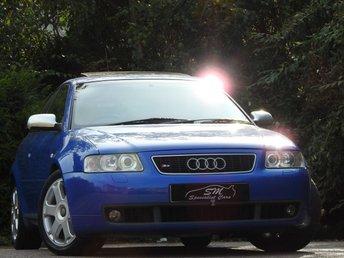 2002 AUDI S3 1.8 quattro 3dr 225 BHP £3490.00