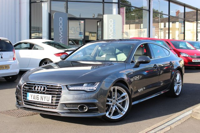 USED 2016 16 AUDI A7 3.0 TDI 268 BHP V6 S line Sportback S Tronic quattro (s/s) 5dr