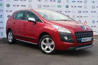 2010 PEUGEOT 3008 1.6 EXCLUSIVE HDI 5d 112 BHP AUTOMATIC £4480.00