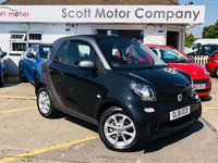 2018 SMART FORTWO 1.0 Passion - 900 miles! £6699.00