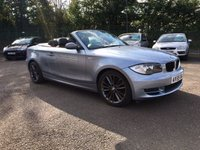 USED 2009 59 BMW 1 SERIES 2.0 118D SPORT 2d CONVERTIBLE WITH SERVICE HISTORY NO DEPOSIT  FINANCE ARRANGED, APPLY HERE NOW