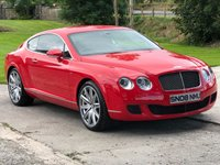 2008 BENTLEY CONTINENTAL 6.0 GT SPEED 2d AUTO 603 BHP £38995.00