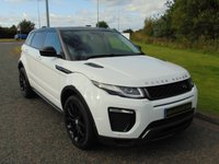 "USED 2016 16 LAND ROVER RANGE ROVER EVOQUE 2.0 TD4 HSE DYNAMIC 5d AUTO 177 BHP HEATED LEATHER, 20""ALLOY, DAB"