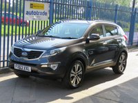 USED 2013 63 KIA SPORTAGE 2.0 CRDI KX-3 5dr Full leather Cruise Heated seats Privacy Finance arranged Part exchange available Open 7 days