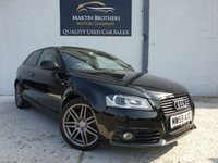 USED 2009 59 AUDI A3 2.0 TDI S LINE SPECIAL EDITION 3d 138 BHP