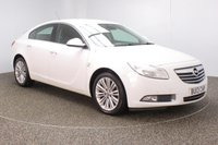 USED 2013 13 VAUXHALL INSIGNIA 2.0 SE CDTI 5DR HALF LEATHER SEATS 157 BHP FULL SERVICE HISTORY + HALF LEATHER SEATS + PARKING SENSOR + BLUETOOTH + CRUISE CONTROL + CLIMATE CONTROL + MULTI FUNCTION WHEEL + DAB RADIO + ELECTRIC WINDOWS + ELECTRIC MIRRORS + 18 INCH ALLOY WHEELS