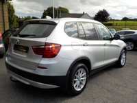 USED 2013 63 BMW X3 2.0 XDRIVE20D SE 5d AUTO 181 BHP Almost £5,000 worth of BMW Factory Fitted Extras!!