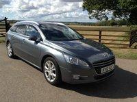2012 PEUGEOT 508 2.0 ALLURE SW HDI FAP 5d 163 BHP £4850.00