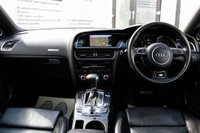 USED 2015 65 AUDI A5 3.0 TDI S line S Tronic quattro (s/s) 2dr 1 OWNER*SATNAV*PARKING AID*