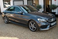 USED 2015 15 MERCEDES-BENZ C CLASS 2.1 C220 BLUETEC AMG LINE 4d AUTO 170 BHP A beautiful C Class with the AMG line & Command Package