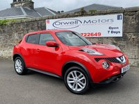 USED 2016 16 NISSAN JUKE 1.5 ACENTA DCI 5d 110 BHP VERY LOW MILEAGE+FULL SERVICE HISTORY+FINANCE AVAILABLE+CRUISE CONTROL+BLUETOOTH