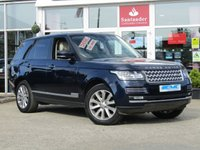 USED 2014 14 LAND ROVER RANGE ROVER 3.0 TDV6 VOGUE SE 5d AUTO 258 BHP STUNNING, 1 OWNER, RANGE ROVER 3.0 TDV6 VOGUE SE AUTO. Finished in LOIRE BLUE Metalic with contrasting IVORY HEATED(Front and Rear) LEATHER SEATS. This oustanding mid-range Vogue SE trim (above Vogue in the hierarchy, but below top-spec Autobiography) was just under £90,000 new. Features include Nav, Pan Roof, Electric Boot, Heated front and Rear Seats, Digital TV Rear View Camera and much more. Land Rover serviced at 30701 miles, 45162 miles, 68349 miles and recently at 81302 miles on 5/7/2019