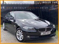 USED 2010 60 BMW 5 SERIES 2.0 520D SE 4d 181 BHP *10 SERVICE STAMPS, PRO NAV, STUNNING CAR!*