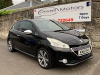 USED 2015 15 PEUGEOT 208 1.6 BLUE HDI S/S XY 3d 120 BHP LOW RATE FINANCE AVAILABLE+SATELLITE NAVIGATION+CRUISE CONTROL+PANORAMIC ROOF