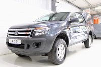 USED 2014 FORD RANGER 2.2 TDCi XL Double Cab Pickup 4x4 4dr (EU5) DIRECT MINISTRY OF DEFENCE