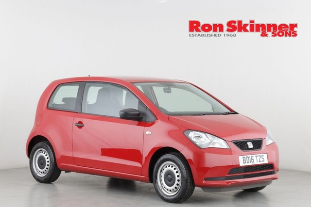 View our 2016 16 SEAT MII 1.0 S 3d 59 BHP