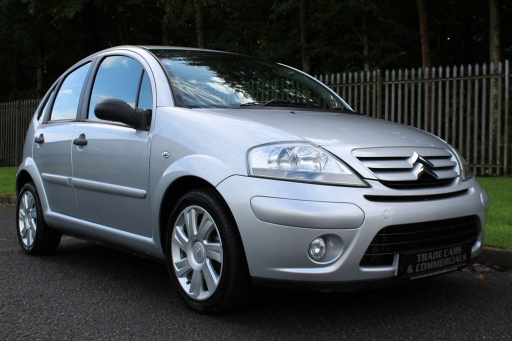 USED 2008 58 CITROEN C3 1.6 EXCLUSIVE PLUS 5d 110 BHP A CHEAP LOW MILEAGE SMALL AUTOMATIC!!!