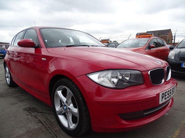 USED 2009 59 BMW 1 SERIES 1.6 116I SPORT LOW INSURANCE BRACKET