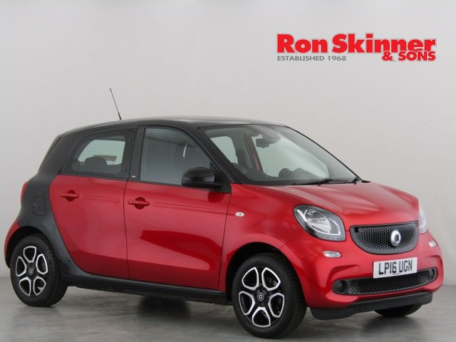 View our 2016 16 SMART FORFOUR 1.0 PRIME 5d 71 BHP