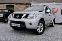 USED 2014 14 NISSAN NAVARA Tekna Double Cab 2.5 dCi Auto ( 188 bhp ) One Previous Owner Low Mileage Full Service History Top Spec Example with No VAT Rare Automatic
