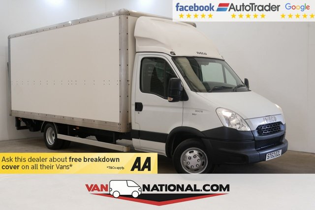 USED 2013 62 IVECO DAILY 3.0 50C15 150 BHP (5 Tonne Luton Heavy Duty Tail Lift)  * LOW MILES * 500KG TAILIFT * TWIN REAR WHEEL AXLE *