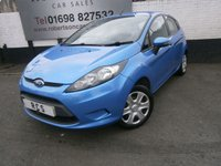 2008 FORD FIESTA 1.2 STYLE PLUS 5dr £2995.00