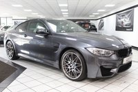 2016 BMW M4 3.0 M4 COMPETITION PACKAGE DCT 450 BHP £34950.00