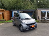 2010 SMART FORTWO 1.0 PASSION MHD 2d AUTO 71 BHP £3295.00
