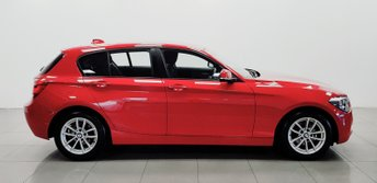2014 BMW 1 SERIES 1.6 116D EFFICIENTDYNAMICS 5d 114 BHP £7950.00