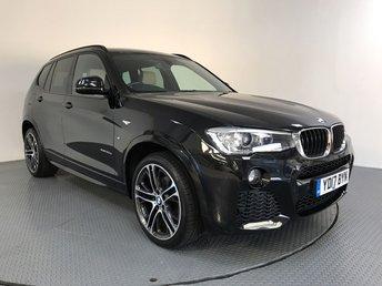 2017 BMW X3 2.0 XDRIVE20D M SPORT 5d AUTO 188 BHP £24500.00