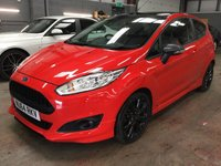 USED 2014 64 FORD FIESTA 1.0 ZETEC S RED EDITION 3d 139 BHP