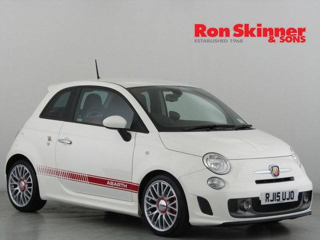 View our 2015 15 ABARTH 500 1.4 595 TURISMO 3d 158 BHP