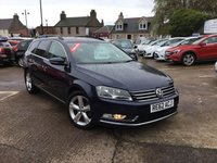 USED 2012 62 VOLKSWAGEN PASSAT 2.0 SE TDI BLUEMOTION TECHNOLOGY 5d 139 BHP LOW MILEAGE DIESEL ESTATE WITH SERVICE HISTORY