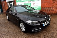 USED 2015 65 BMW 5 SERIES 2.0 520D SE 4d AUTO 188 BHP +ONE OWNER +5 STAMP FSH.