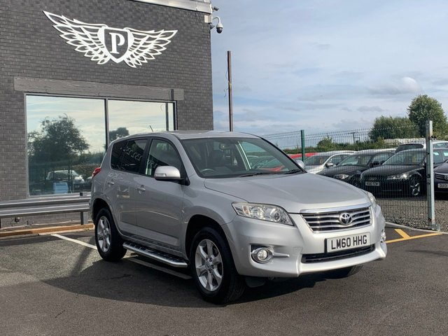 USED 2010 60 TOYOTA RAV4 2.2 XT-R D-4D 5d 150 BHP 12 MONTHS MOT AND SERVICE INCLUDED