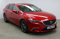 USED 2016 16 MAZDA 6 2.2 D SPORT NAV 5d 148 BHP FULL SERVICE HISTROY + SAT-NAV + 1 OWNER + LEATHER SEATS + HEATED SEATS + PARKING SENSORS + REVERSE CAMERA + HEADS UP DISPLAY + LANE KEEP ASSIST + BLIND SPOT MONITORING + CRUISE CONTROL + MEMORY SEATS
