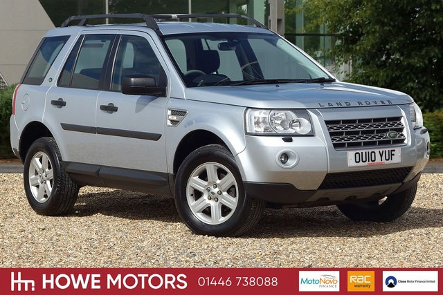 2010 10 LAND ROVER FREELANDER 2.2 TD4 GS 5d AUTO 159 BHP ALPINE PROLOGIC SURROUND SOND SYSTEM 17