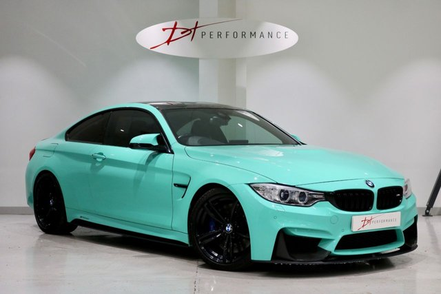2016 16 BMW M4 3.0 M4 2d AUTO 426 BHP HUGE SPECIFICATION INDIVIDUAL MINT GREEN