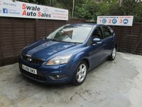 USED 2008 08 FORD FOCUS 1.6 ZETEC TDCI 5d 108 BHP FINANCE AVAILABLE FROM £27 PER WEEK OVER TWO YEARS - SEE FINANCE LINK FOR DETAILS