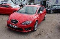 USED 2012 61 SEAT LEON 2.0 CR TDI FR PLUS 5d AUTO 168 BHP